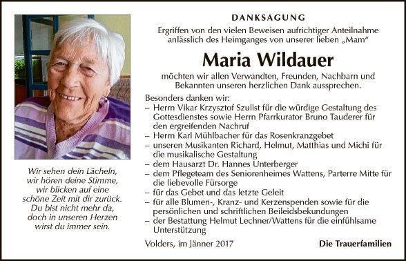 Maria Wildauer