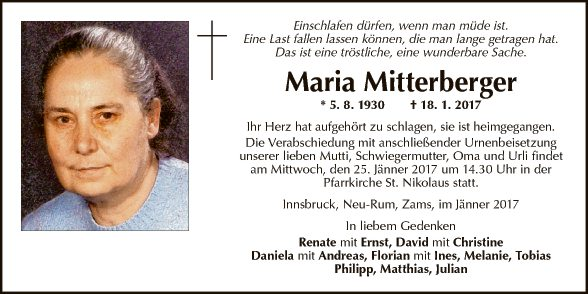 Maria Mitterberger