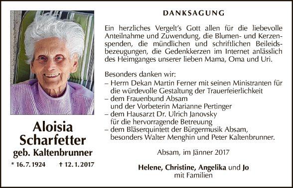 Aloisia Scharfetter