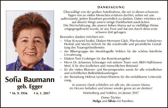 Sofia Baumann
