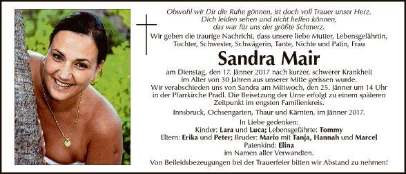 Sandra Mair