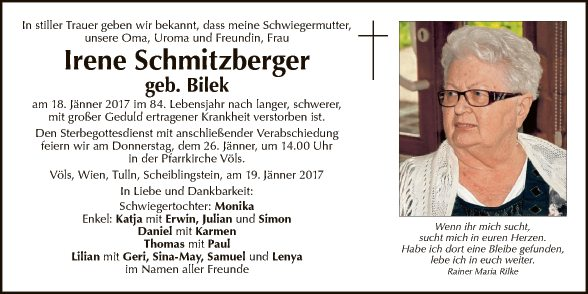 Irene Schmitzberger