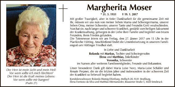 Margerita Moser