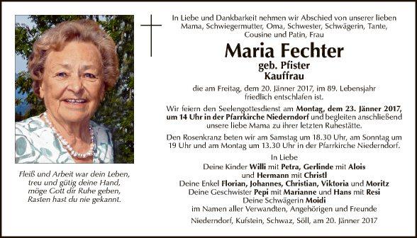 Maria Fechter