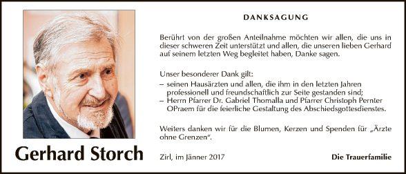 Gerhard Storch