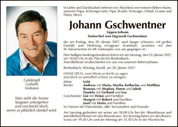 Johann Gschwentner