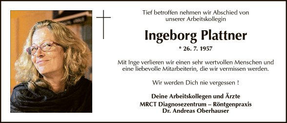 Ingeborg Plattner