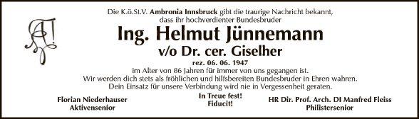 Ing. Helmuth Jünnemann
