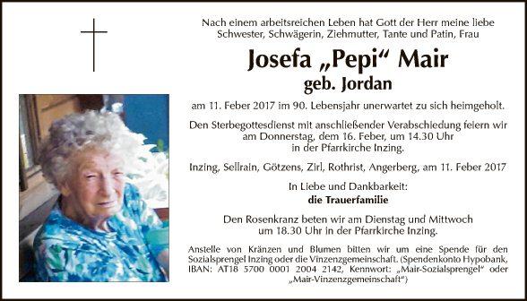 Josefa Mair
