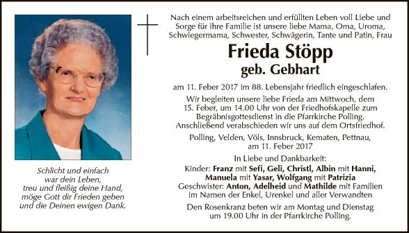 Frieda Stöpp