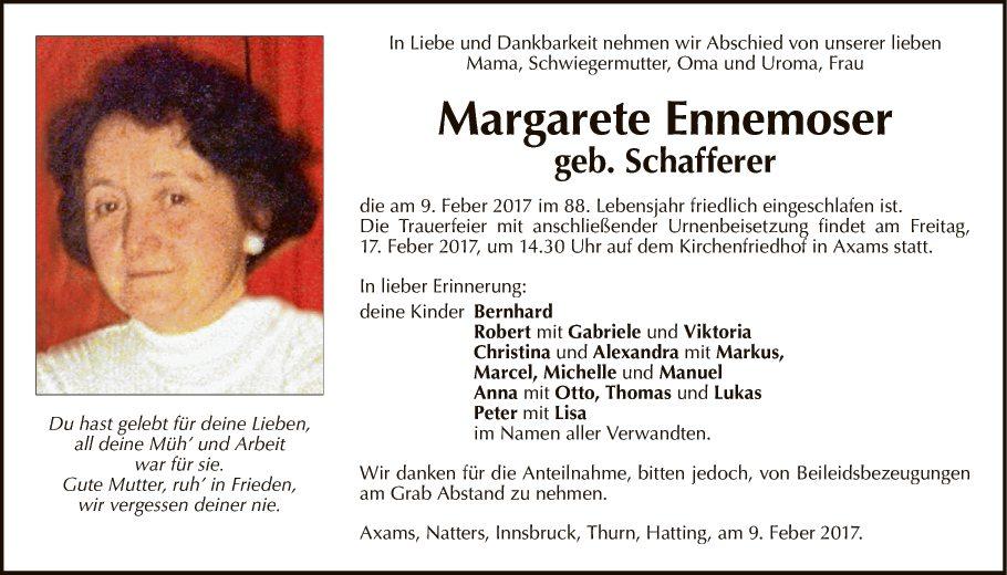 Margarete Ennemoser
