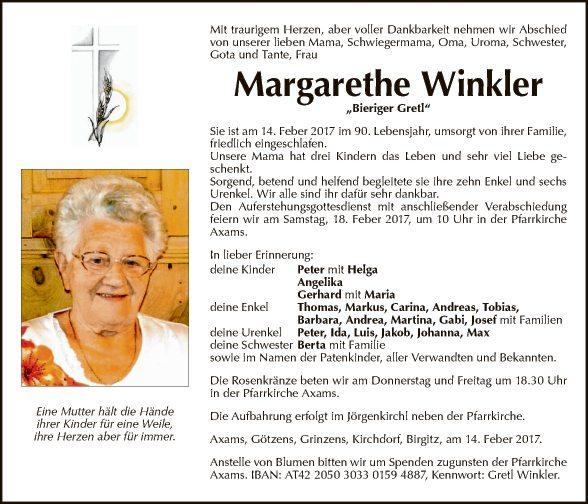 Margarethe Winkler