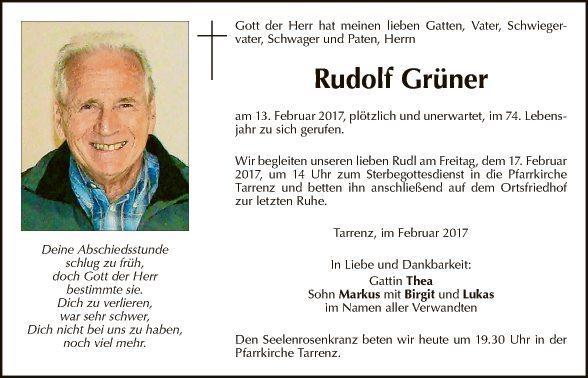 Rudolf Grüner