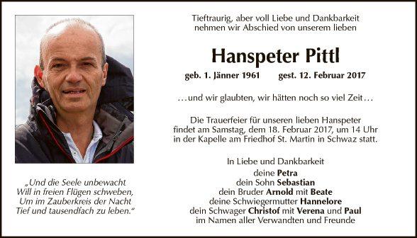 Hanspeter Pittl