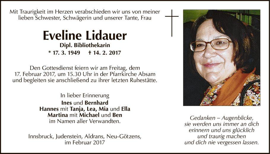 Eveline Lidauer