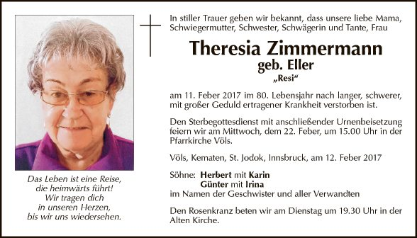 Theresia Zimmermann