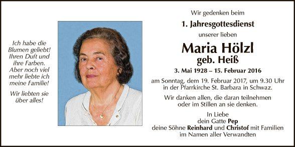 Maria Hölzl