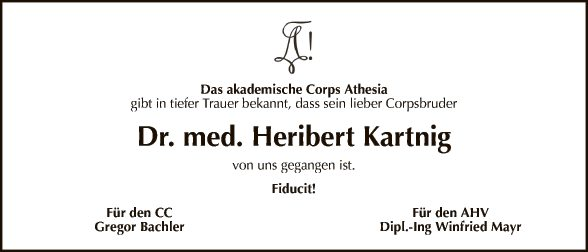 Dr. Heribert Kartnig