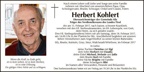 Herbert Kohlert
