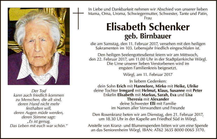 Elisabeth Schenker