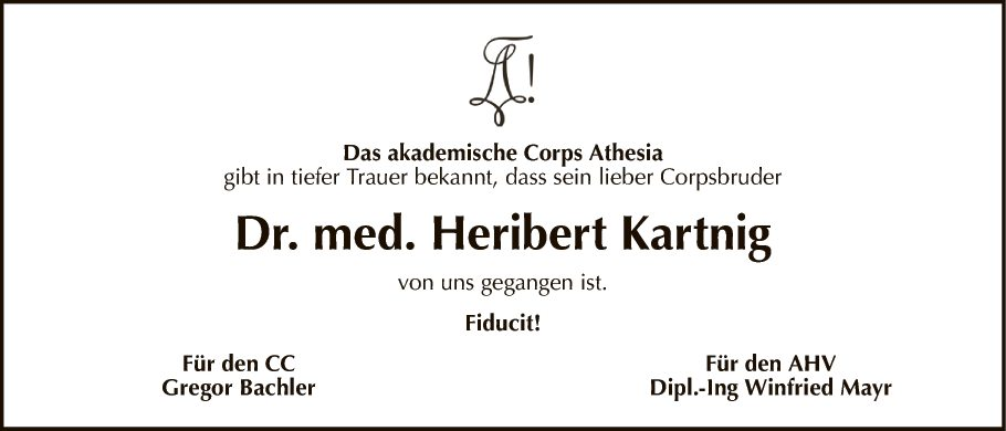 Dr. Heribert Kartnig