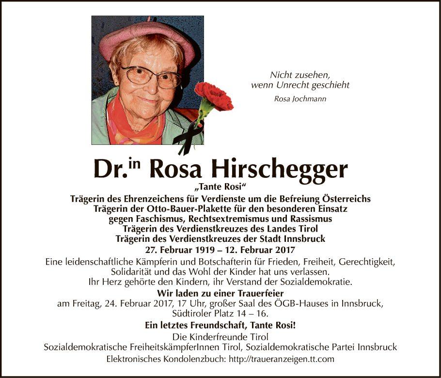 Rosa Hirschegger