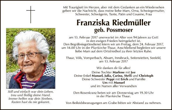 Franziska Riedmüller