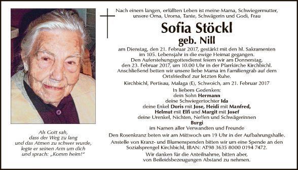 Sofia Stöckl