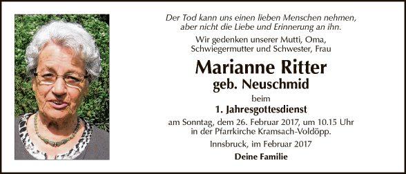 Marianne Ritter