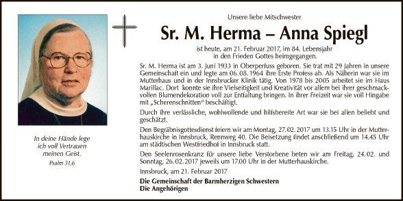 Sr. M. Herma