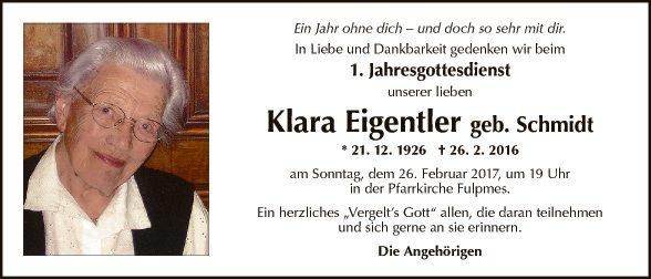 Klara Eigentler