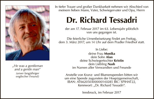 Dr. Richard Tessadri