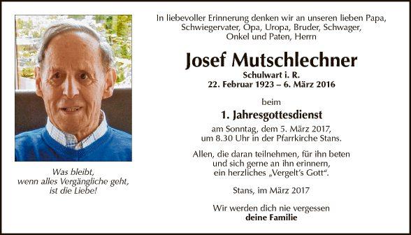 Josef Mutschlechner