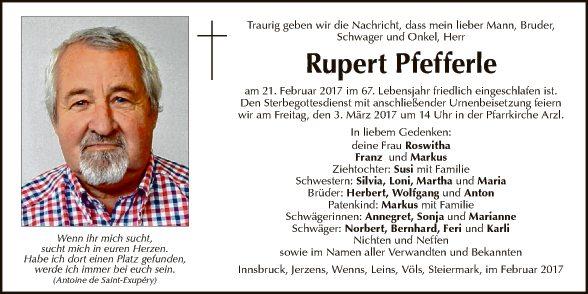 Rupert Pfefferle