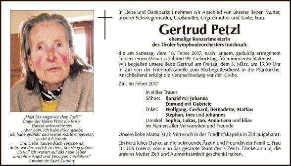 Gertrud Petzl
