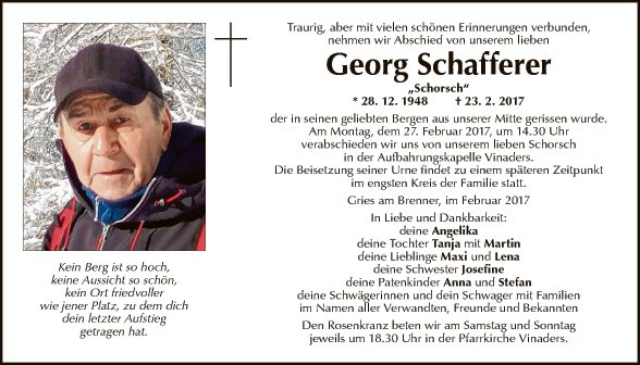 Georg Schafferer
