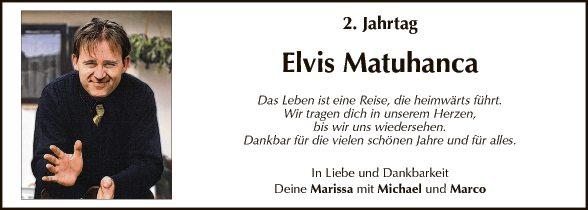 Elvis Matuhanca