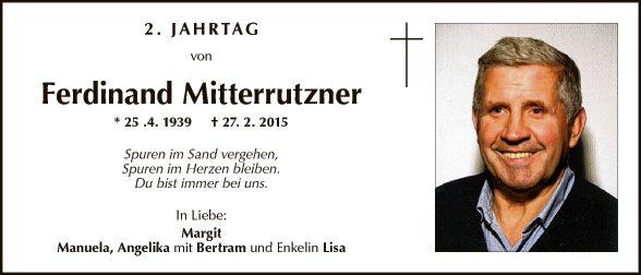 Ferdinand Mitterrutzner