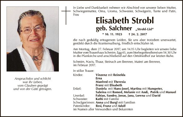 Elisabeth Strobl