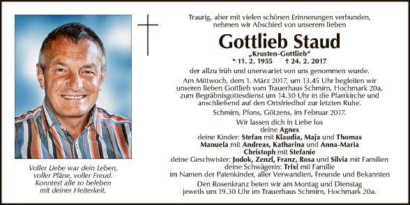 Gottlieb Staud