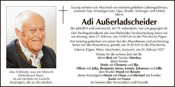 Adi Außerladscheider