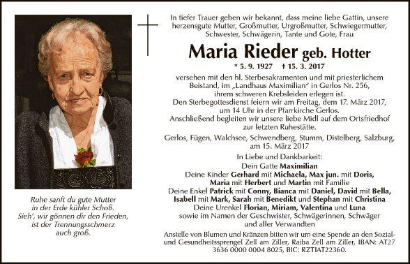 Maria Rieder