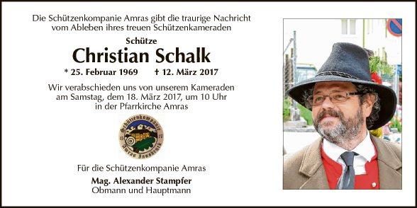 Christian Schalk