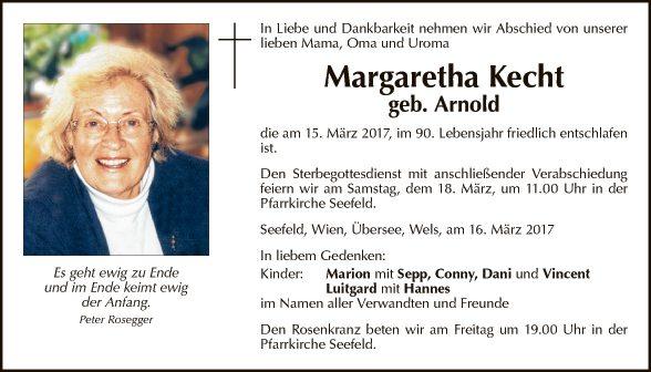 Margaretha Kecht