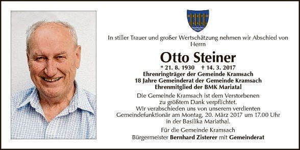 Otto Steiner