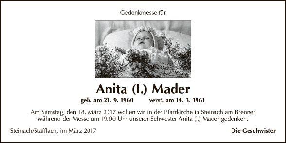 Anita Mader