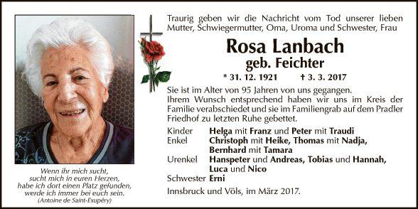 Rosa Lanbach