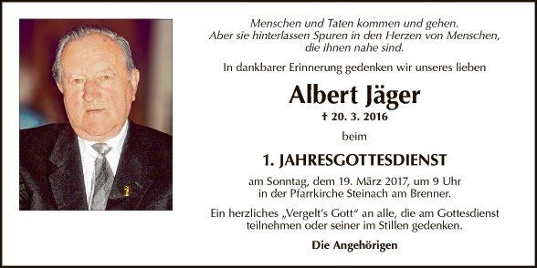 Albert Jäger