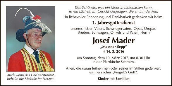Josef Mader