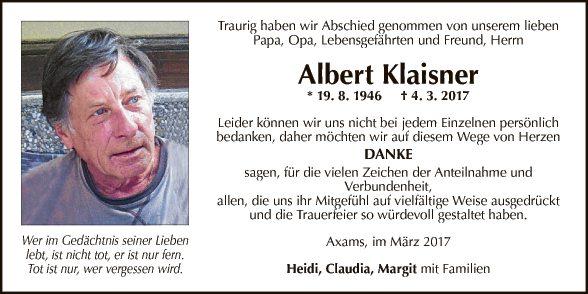 Albert Klaisner